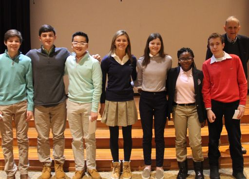 National Recognition for Math Students